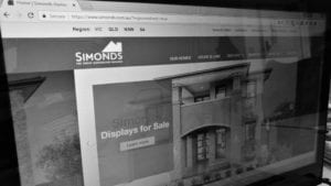brand awareness with search marketing for simonds homes